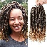 Best Hair For Crochet Braids - Flyteng Spring twist crochet hair curly end 12inch Review