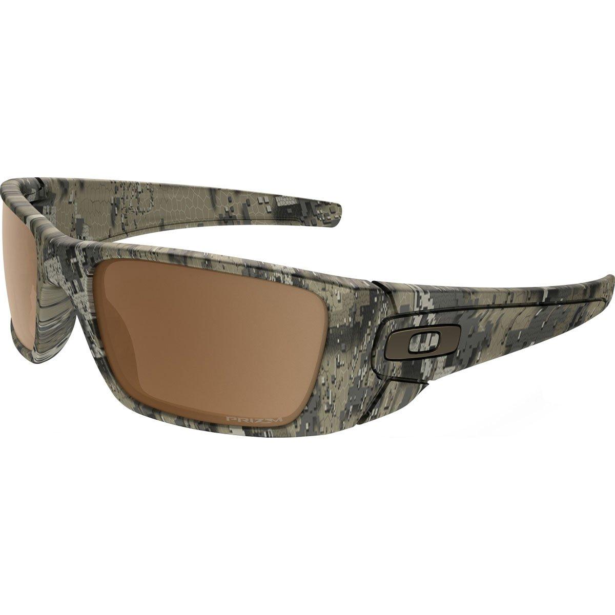 Oakley Mens Fuel Cell Sunglasses, Desolve Bare Camo/Prizm Tungsten, One Size