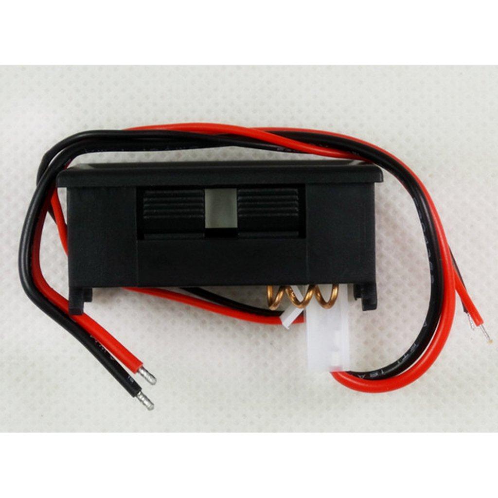vert MagiDeal Voltm/ètre Contr/ôle Tension Convertisseur R/égulateur Stablizer Puissance Amp/èrem/ètre LED Num/érique Afficher /Étanche DC 3.5-30V