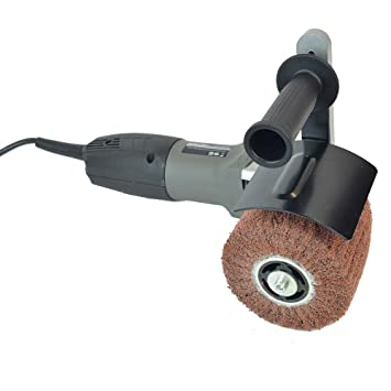 hardin hb5800 hand held angle burnished stainless steel polisher