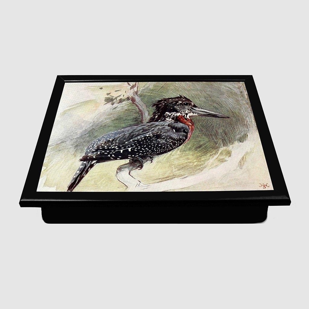 Big Box Art Vintage Harry Johnston Great Kingfisher Padded Lap Tray ...