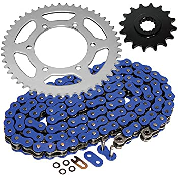 RK Racing Chain 4107-098S Steel Rear Sprocket and 520GXW Chain 520 Steel Conversion Kit