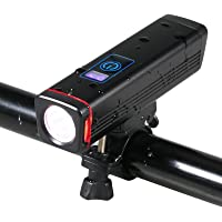 Domary Luzes ultrabrilhantes para bicicleta Reable IPX6 resistente à água frontal com LEDs para bicicletas Lâmpada de…