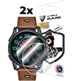 IPG for Diesel Smartwatch (47 MM) DZT2008 - DZT2009 - DZT2010 - DZT2011 Screen Protector (2 Units) Invisible Ultra HD Clear Film Anti Scratch Skin Guard - Smooth/Self-Healing/Bubble -Free by