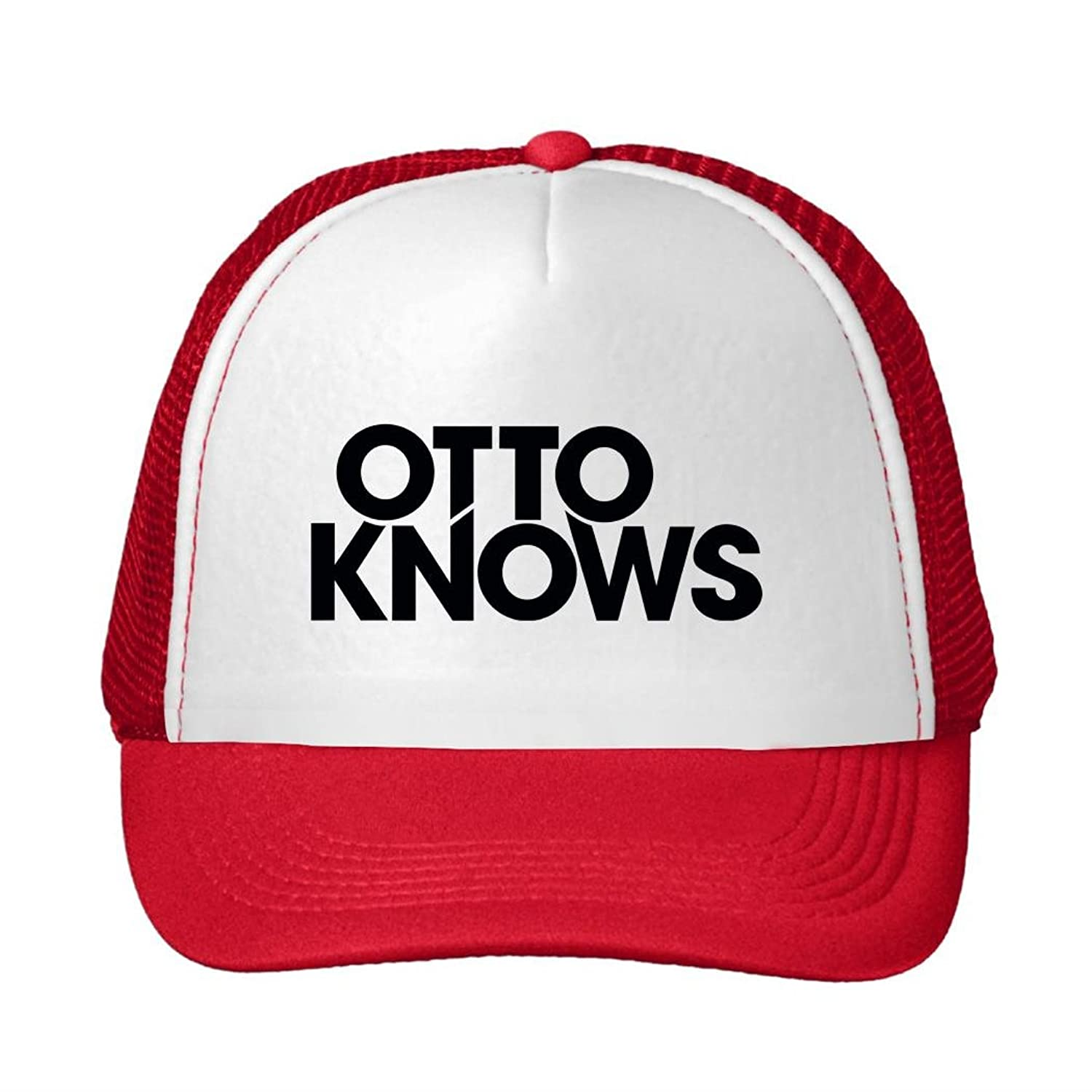 Corey Fantastic Baseball Cap Otto Knows Logo Snapback Trucker Hat