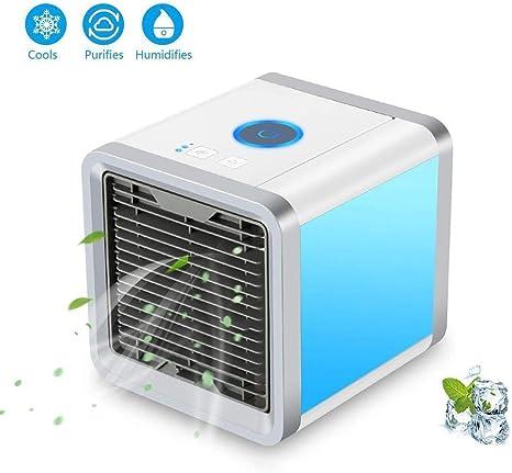 GuoYq Refrigerador de Aire 3 en 1 Compacto y portátil, Aire ...