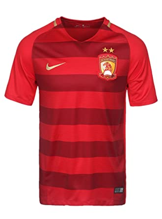 a61fb8bef Nike Men s DRI-FIT CSL Guangzhou Hengda Football Fans Jerseys 849158-611 (S