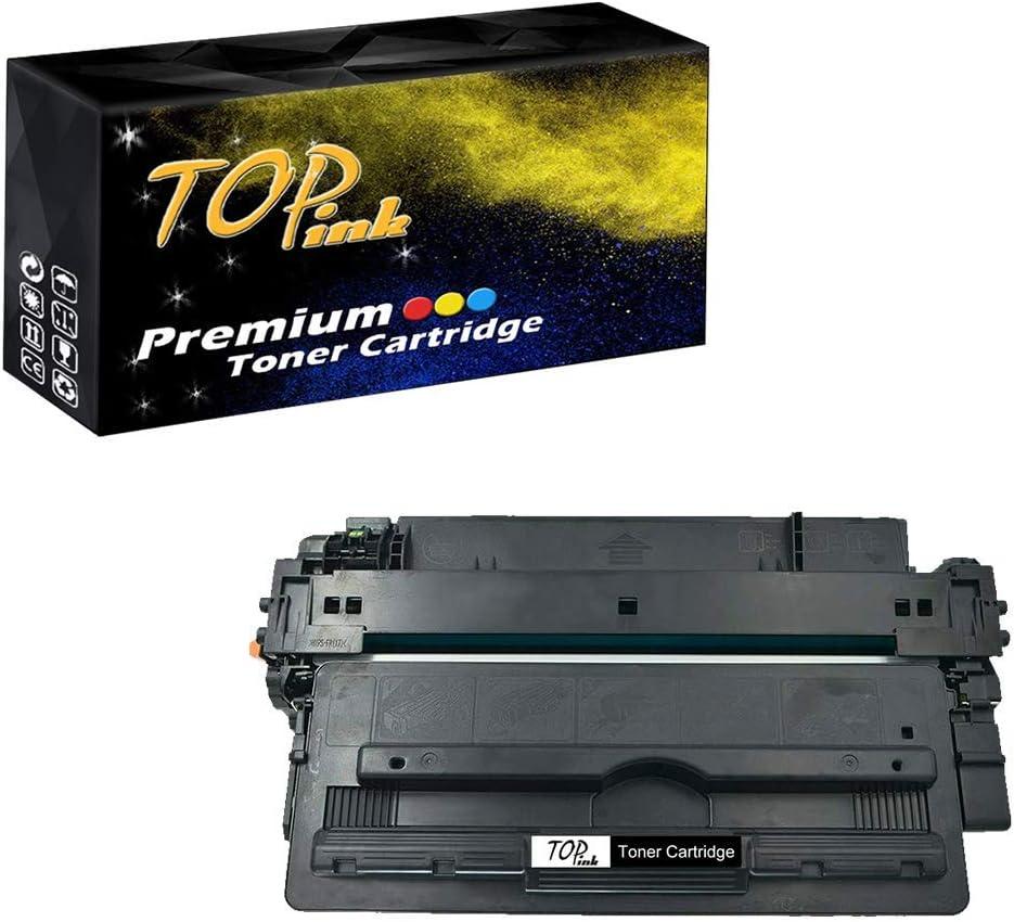TopInk CF235A Toner Cartridge Replacement for HP Laserjet Enterprise 700 M712n Printer-1 Pack