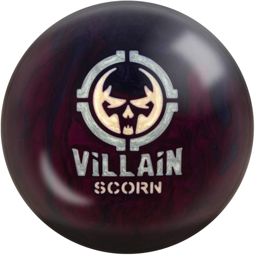 Motiv Villain Scorn ボーリングボール - プラム/グレーパール B07JFYBYZT 15 lb.