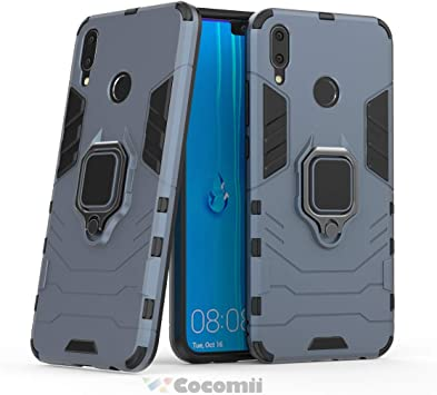 Cocomii Black Panther Armor Huawei Y9 2019/Enjoy 9 Plus Funda ...