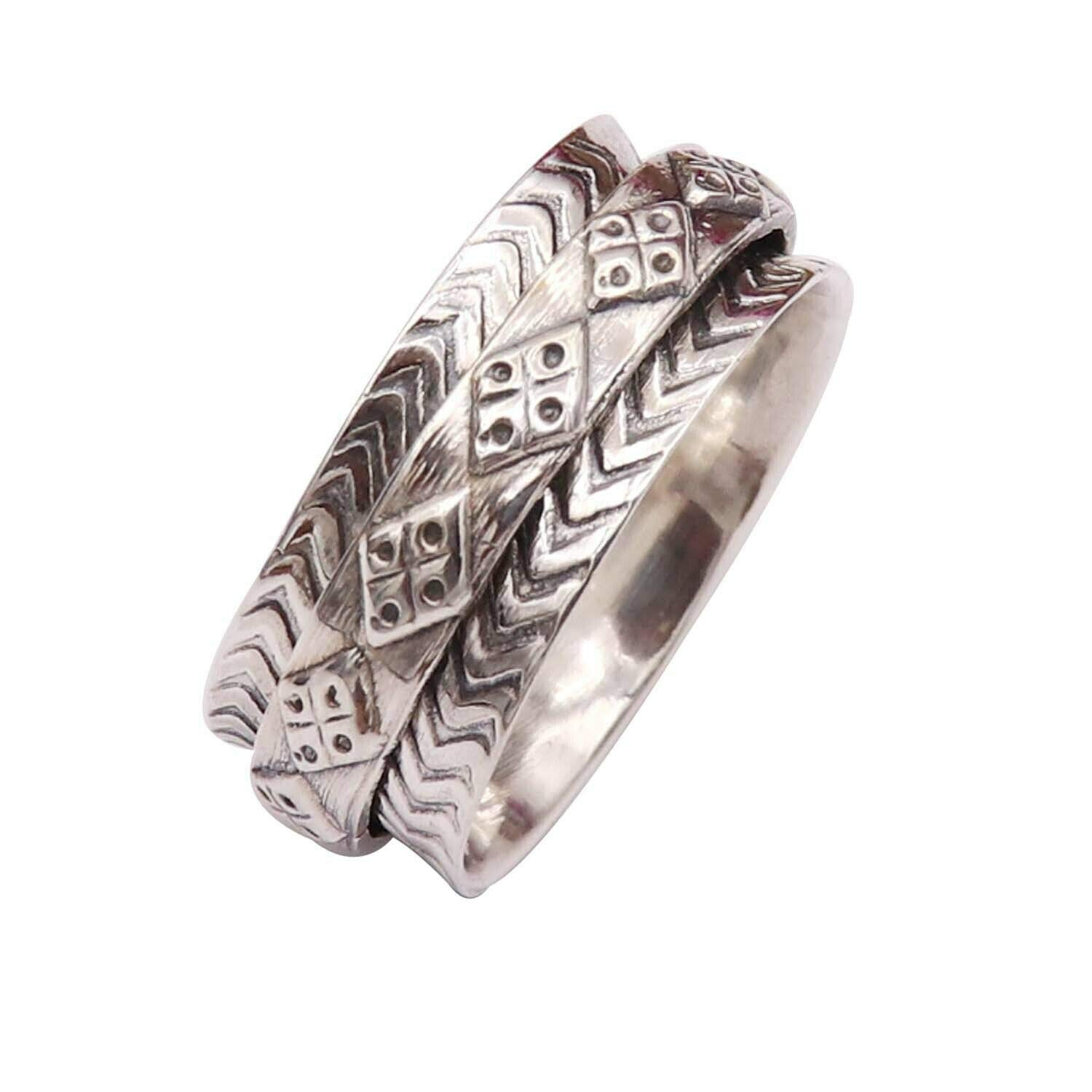 Gypsy Ring Spinner ring Wide Band Ring Anxiety Ring Most Popular Ring Thumb Ring Spinner Rings For Women Spinning Meditation Ring