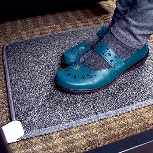 y Toes Carpeted Foot Warming Heater for Under Desks and More ()