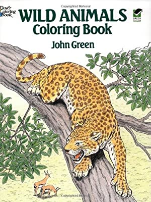 Wild Animals Coloring Book Dover Nature Coloring Book from Dover Publications
