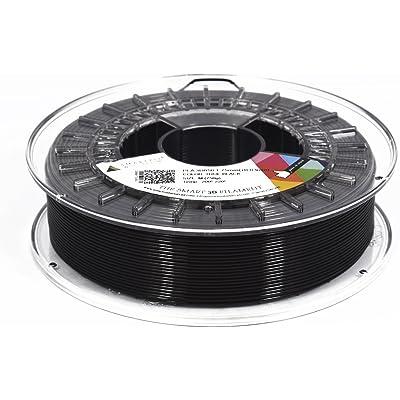SMARTFIL PLA, 1.75mm, TRUE BLACK, 1000g Filamento para impresión 3D de Smart Materials 3D