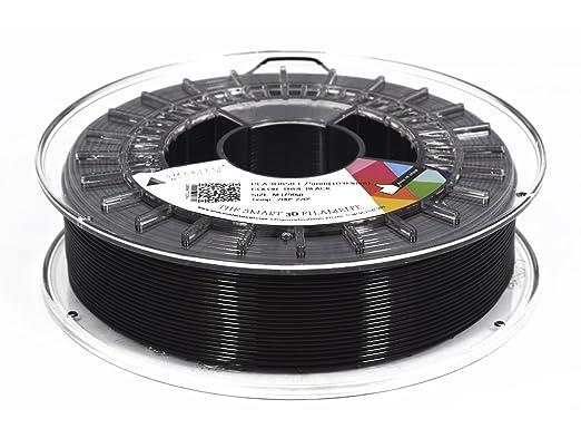 SMARTFIL PLA, 1.75mm, TRUE BLACK, 1000g Filamento para impresión ...