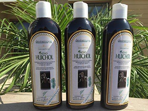 ORGANIC SHAMPOO INDIO HUICHOL PREVENTS HAIR LOSS 13.50 OZ (SET OF THREE)