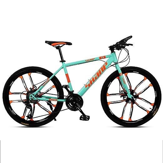 Huoduoduo Bicicleta, Bicicleta De Montaña, 26 Pulgadas De 30 ...