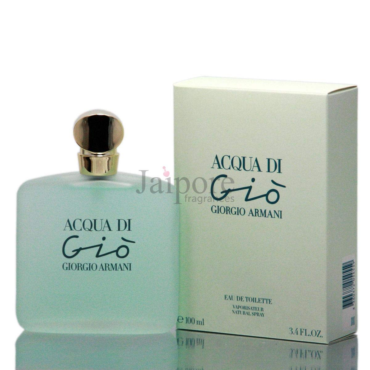 Acqua di Gio by Giorgio Armani for women Eau De Toilette Spray, 3.4 Ounces