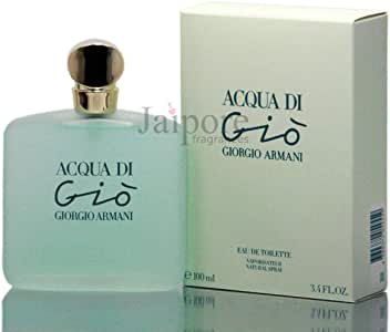 Acqua Di Gio By Giorgio Armani For Women Spray, 3.4 Ounces
