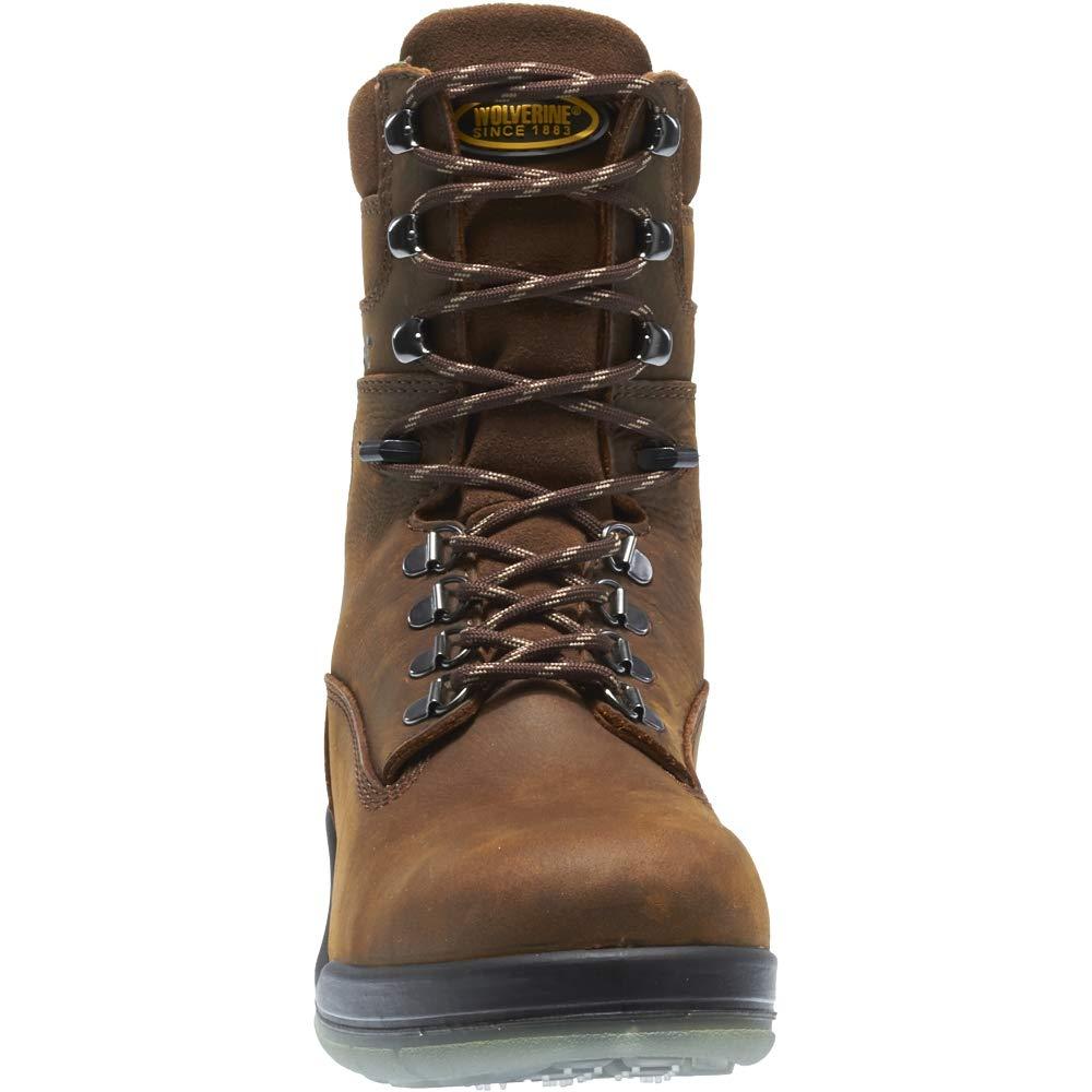 Wolverine I-90 DuraShocks Waterproof Insulated Steel Toe 8'' Work Boot Men 13 Stone by Wolverine (Image #6)
