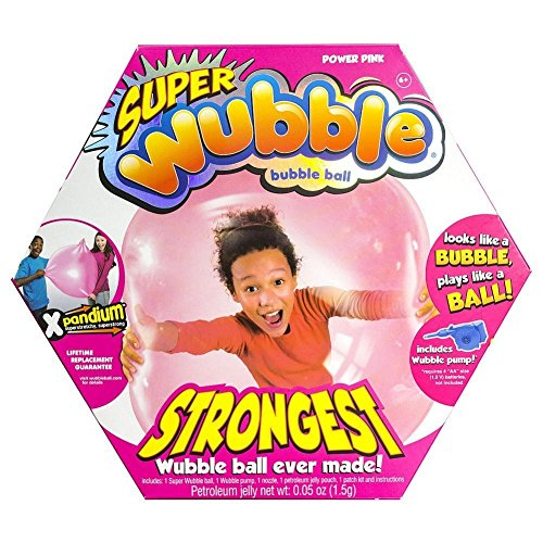 The Amazing Tear-Resistant Super Wubble Bubble Ball - Pink