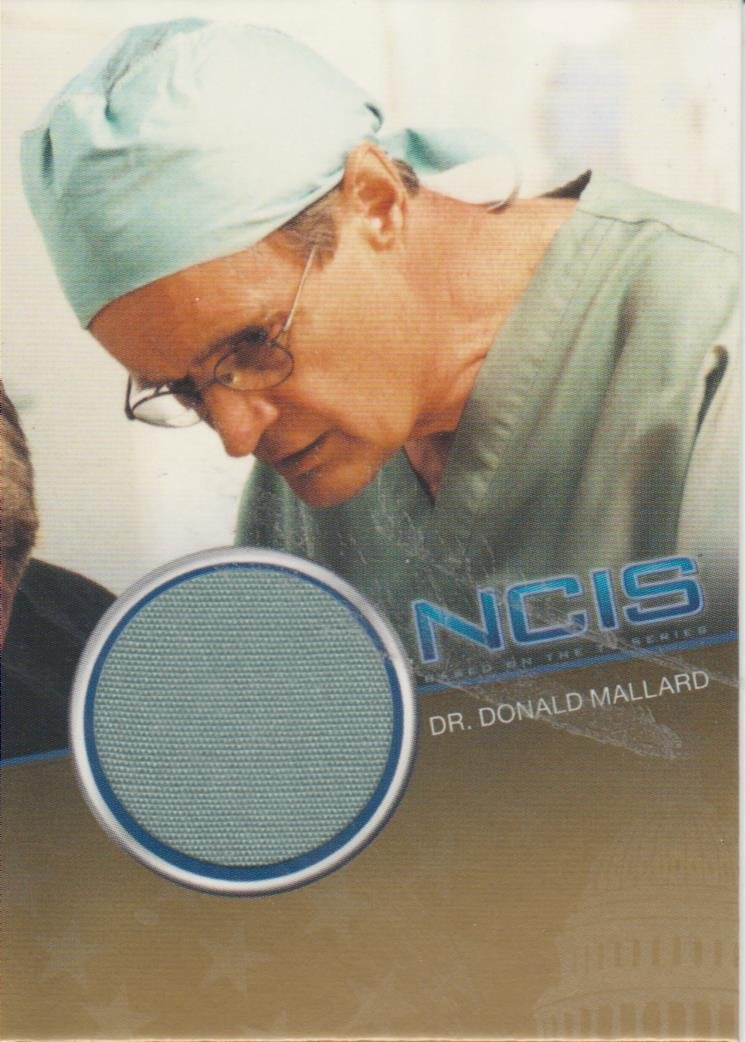 Collectibles NCIS COSTUME RELIC CC9 DAVID MCCALLUM