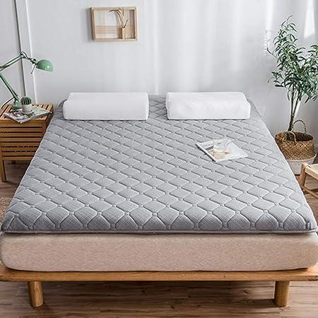 Plegable Futón Colchón,Japonés Suave Almohadilla para Dormir ...