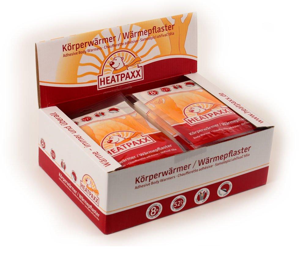 Heatpaxx - Parche corporal de calor, 8 horas, caja con 40 unidades HX-301