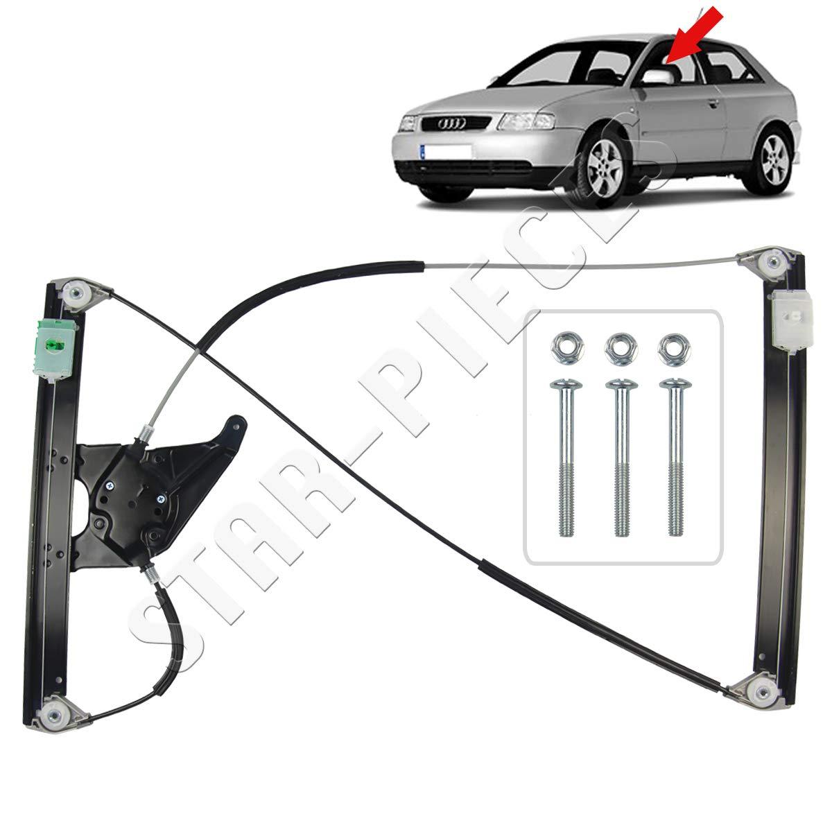 3 Portes de 1996 /à 2003. 8L STARKIT PERFORMANCE M/écanisme l/ève vitre /électrique Avant Gauche conducteur pour Audi A3