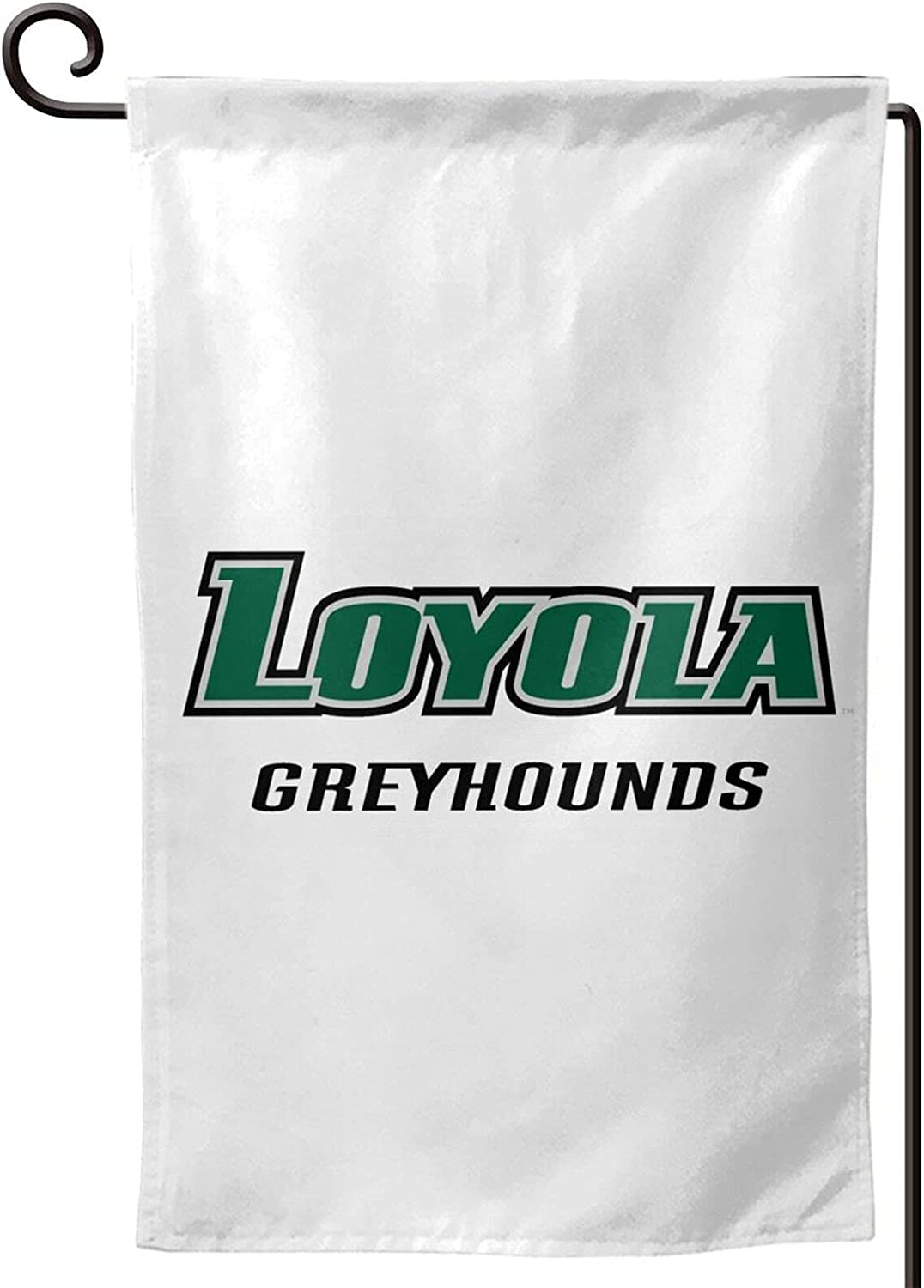 Loyola University Maryland Logo 12.5 X 18 Inch Garden Flag Vertical Double-Sided Welcome Courtyard Outdoor Decoration