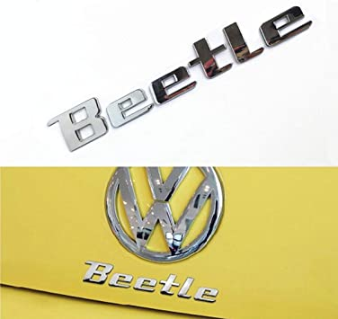 VW Bug Car Metal Charms 3D-Set of 5