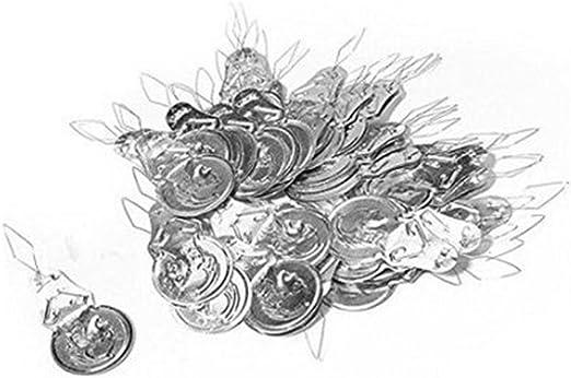 Haodou 100 piezas / set Enhebrador de agujas plata para máquina de ...