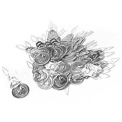 Haodou 100 piezas / set Enhebrador de agujas plata para máquina de coser y hecha a