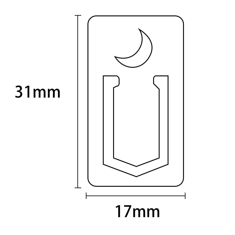 Geschenkbox 12er-Set Gold MEHRWEG Metall Lesezeichen TIANSE Hohl 12 St/ück Messing Lesezeichen Seitenmarkierungen Metallbuchmarken