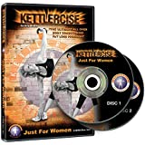 Kettlercise Just For Women Vol 1, 2 Disc DVD Set - Ultimate Kettlebell Fat Loss & Body Tone Workout Program