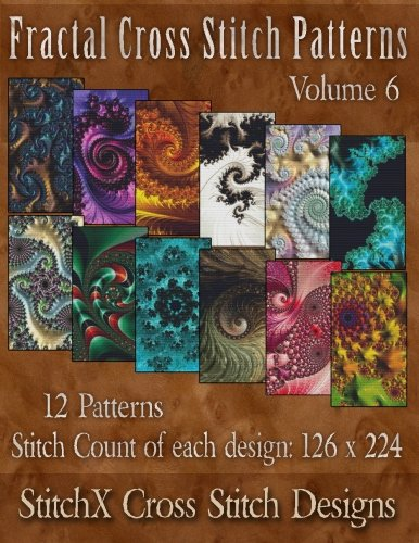 Fractal Cross Stitch Patterns Volume 6