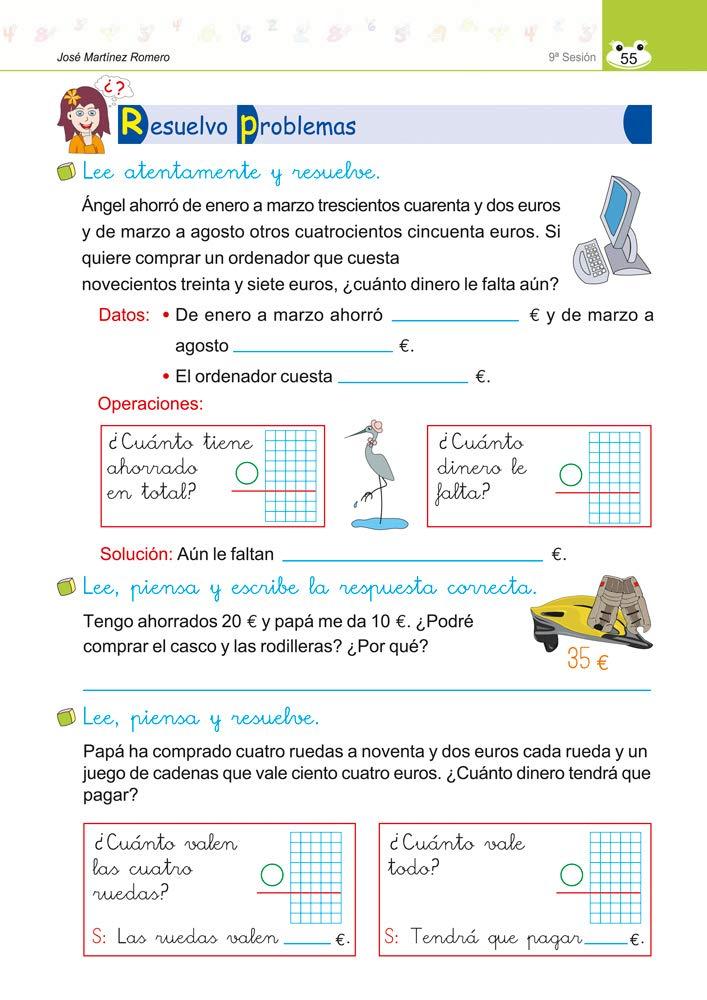 lengua y matematicas 2 10 sesiones trabajar los contenidos basicos: JOSE MARTINEZ ROMERO: 9788499154213: Amazon.com: Books