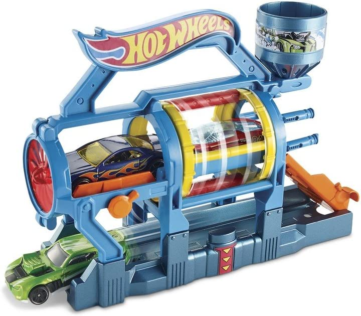 Hot Wheels Turbo Jet Car Wash Playset