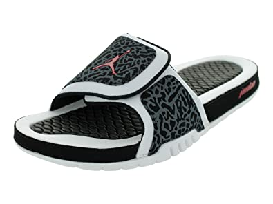 c10355cb19668 NIKE Jordan Hydro 2 Men Sandals Color White Black Gym Red 312527-124