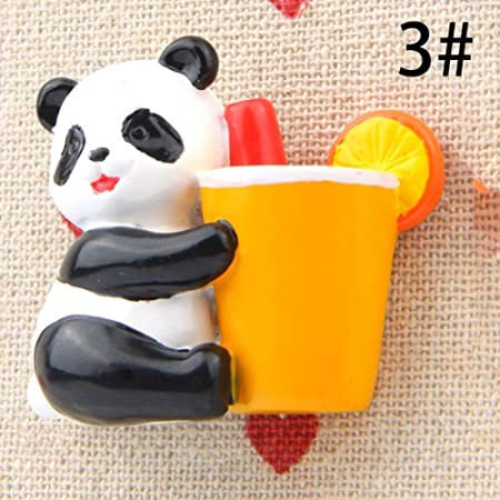 Feli546Bruce - Imanes para Nevera, diseño de Panda de Dibujos ...