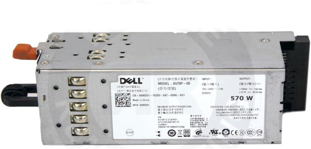 G0KD5 - PSU 570W Redundant Hot Swap A570P-00 PowerEdge R710