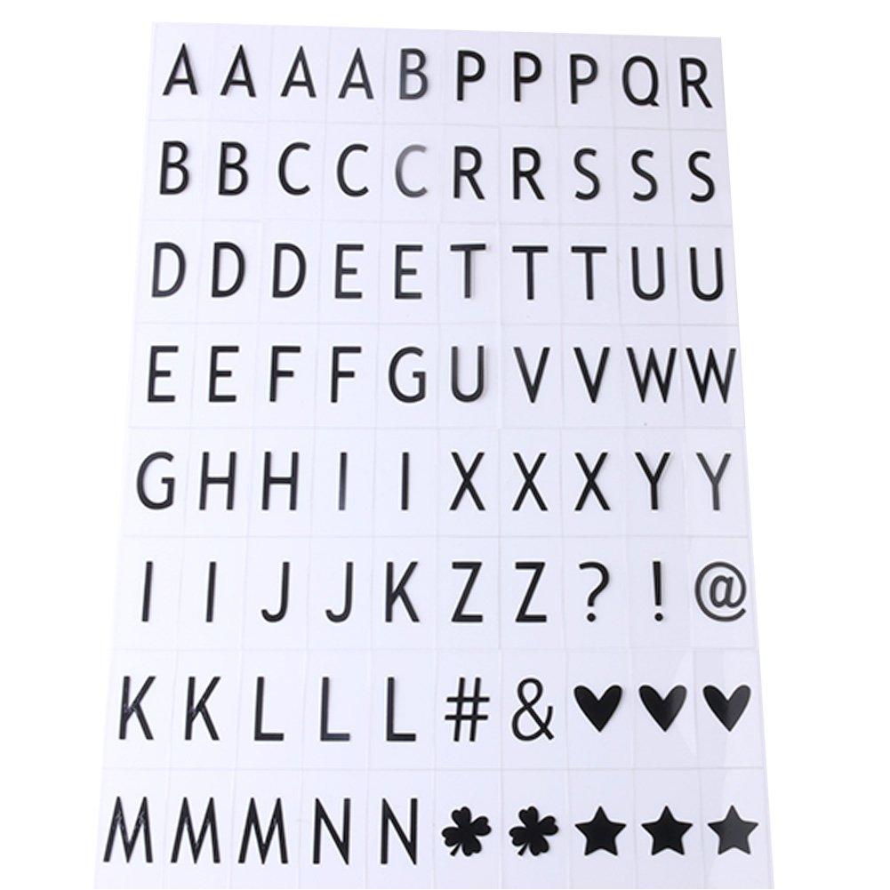 90 letras para caja de luz cinemática A4/A5, letras y símbolos para festival, boda, cumpleaños, fiesta, gran día, etc., de Hamhsin: Amazon.es: Hogar