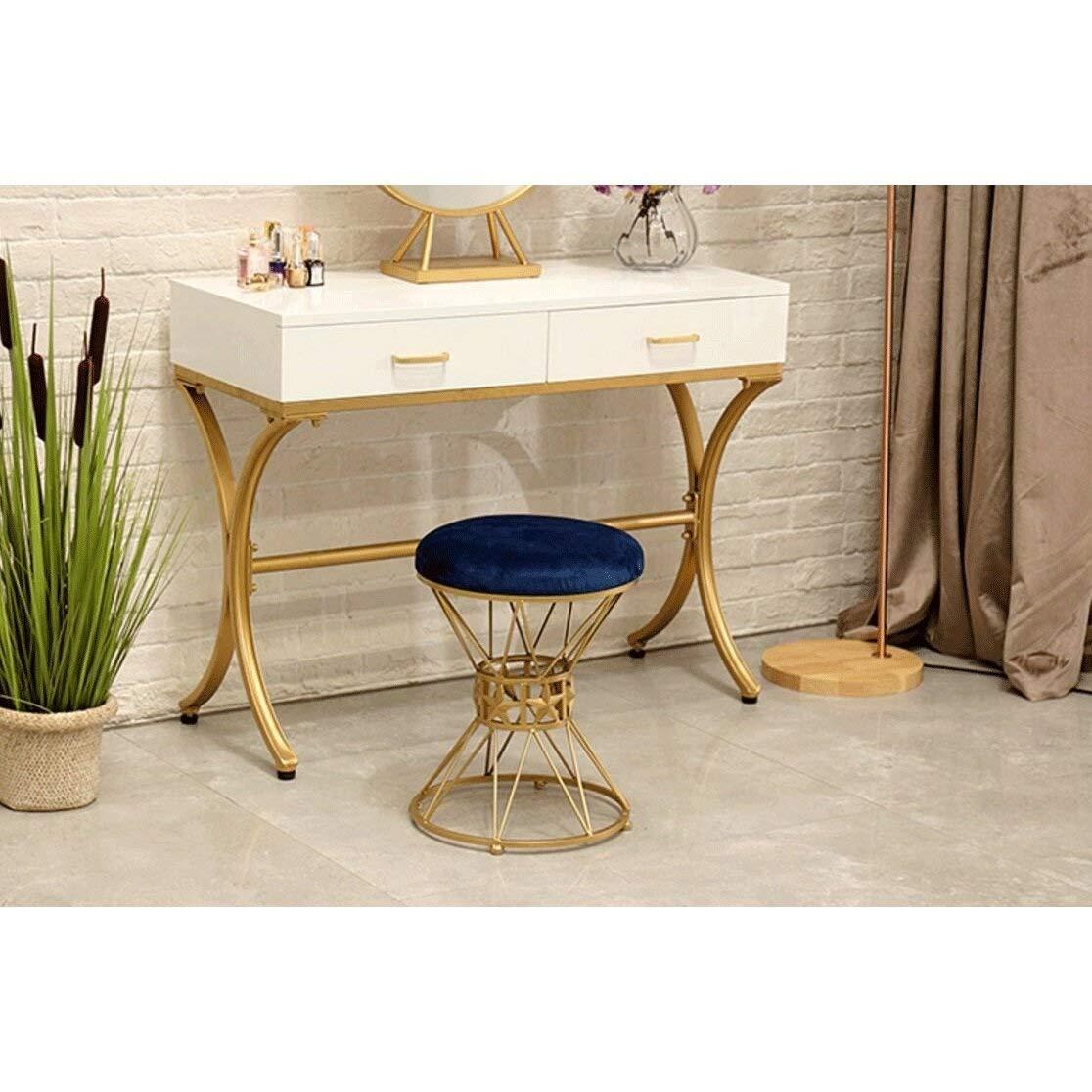 FANGQIAO SHOP-stol pallar mode makeup klädsel sovrum prinsessstol sko bänk matstol stol stol 7.22 (färg: F) c