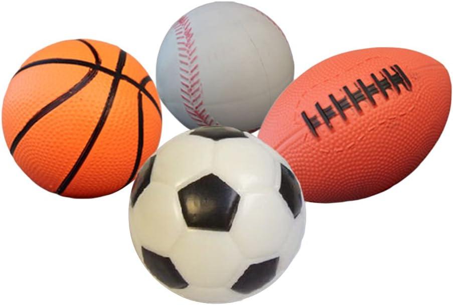 NUOLUX Baloncesto Balón Fútbol Rugby Bolas Pelotas Juguetes ...