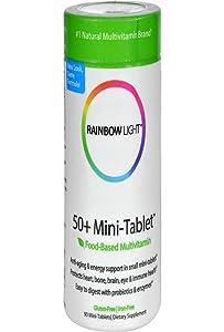 Rainbow Light Multivitamin 50+ Mini, 90 ct