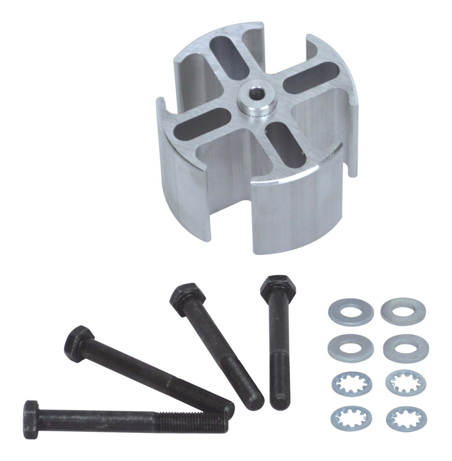 Flex-a-lite 14556 Mill Finish 2'' Fan Spacer Kit by Flex-a-lite