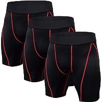 Niksa 3 Piezas Mallas Cortas Running Hombre Pantalones