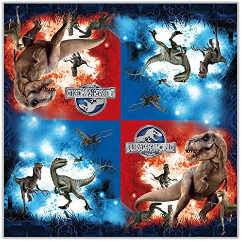 Jurassic Worldナプキンセット( 13インチ) 20個