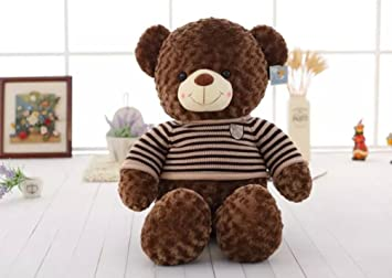 VERCART juguete niño gran oso Ígor 31 inches gigante oso de peluche Teddy Bear marrón 80