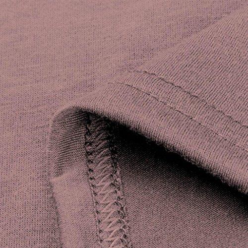 D'été Plage Pure 2xl À Genou Manches Jupe S Poches Adeshop Dress Taille Rose Femmes Couleur Courtes Robe Au Sexy Casual Lâche Soirée Parties Party Élégant Mini qgSv0wI